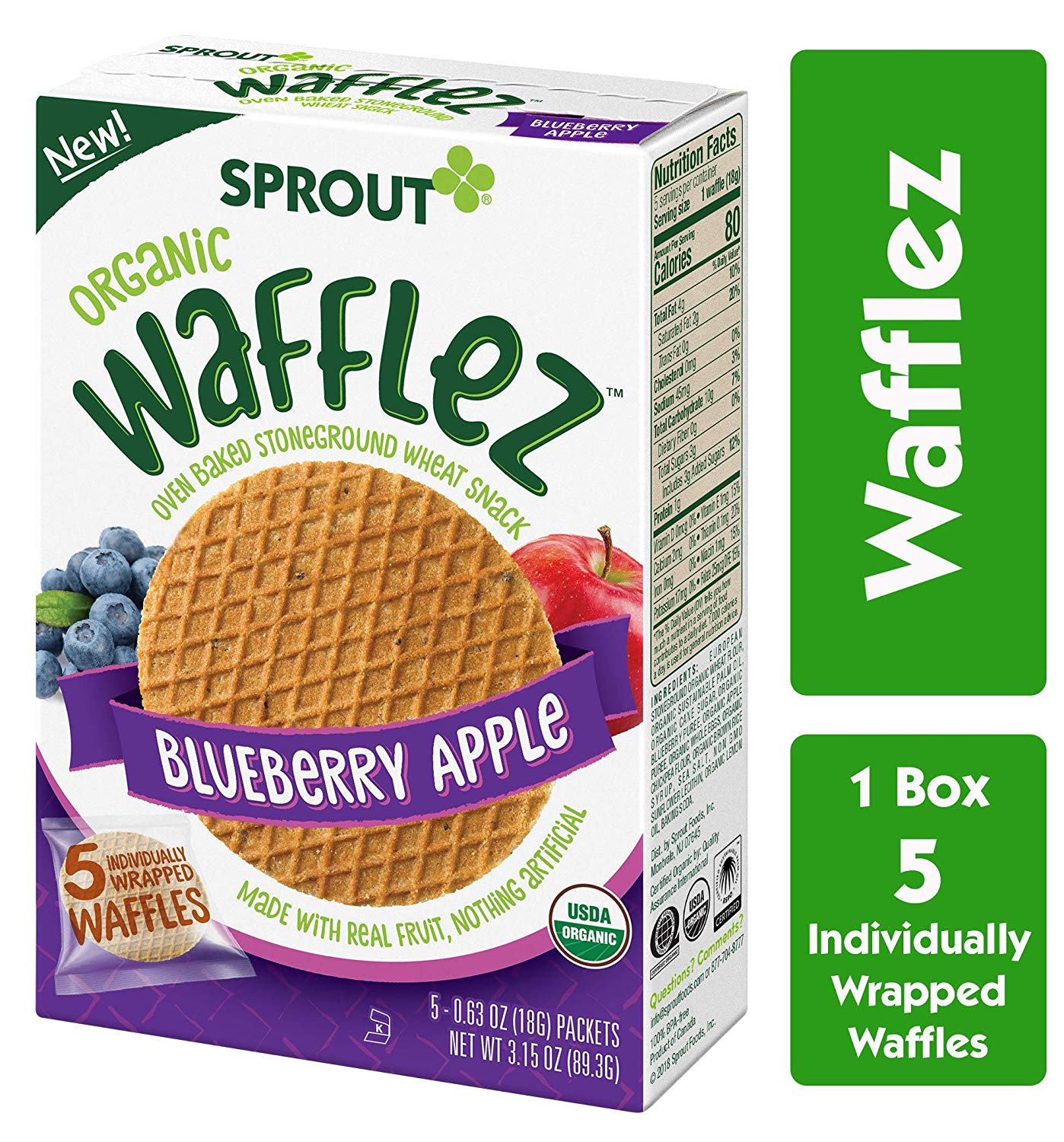 Sprout Organic Wafflez
