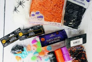 halloween sensory bin contents 1