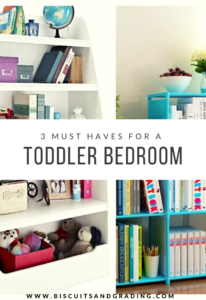 3 MUST HAVES for toddler bedroom