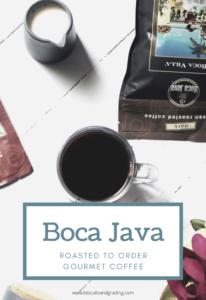 Boca Java pinterest image