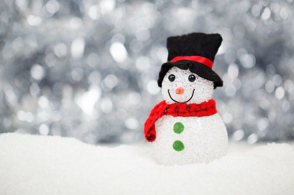 build snowman winter toddler bucket list