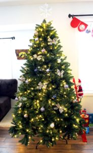 decorated king of christmas tree aa