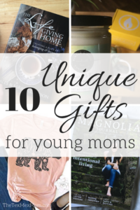 gift guide young moms
