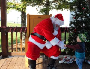 Camden meeting santa Christmas tradition
