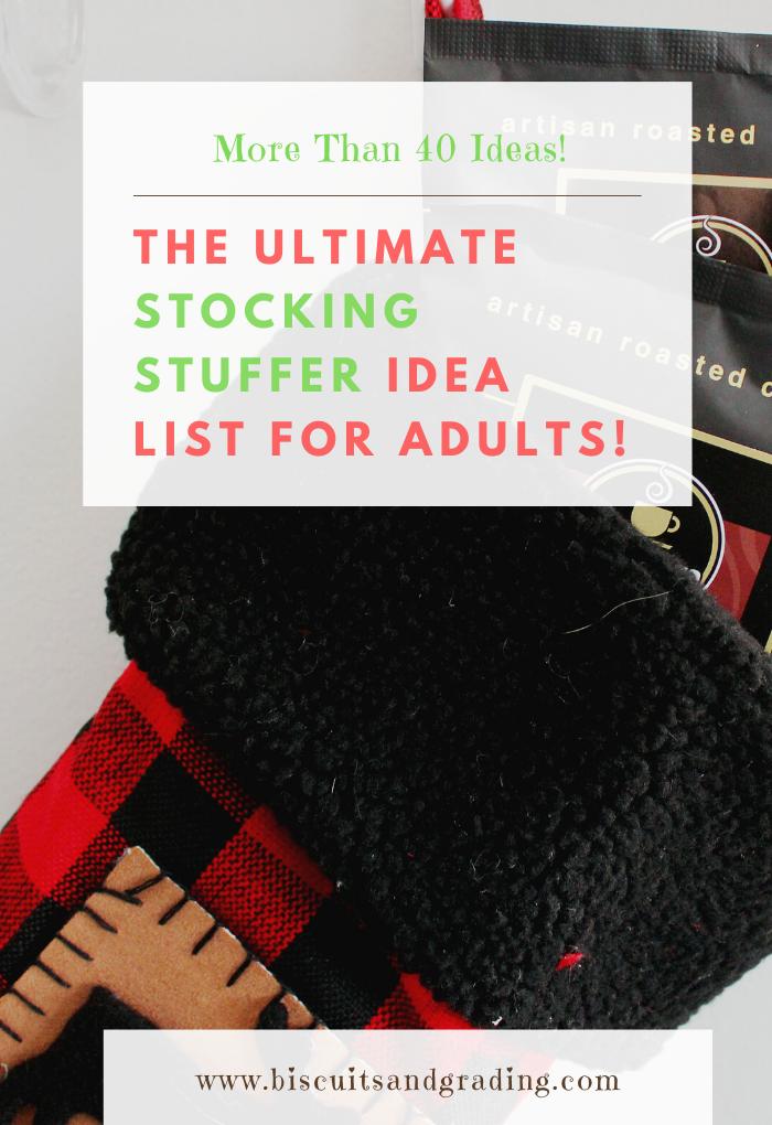 The Ultimate Stocking stuffer idea list