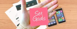 set goals and new year's resolutions that are achievable