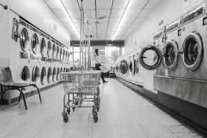 leave quarters at laundromat