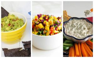 2 cold game day dip recipes for super bowl