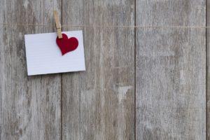 Valentine's Day notecard