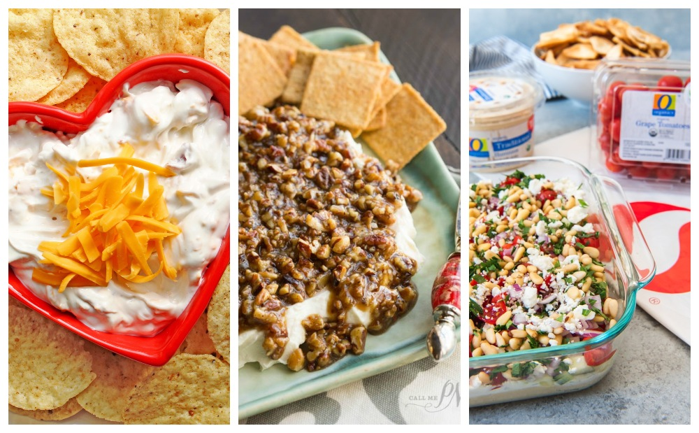 cold game day dip recipes for super bowl