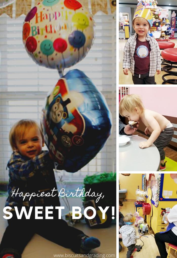 happy second birthday sweet boy