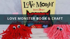 Love Monster Book & Craft