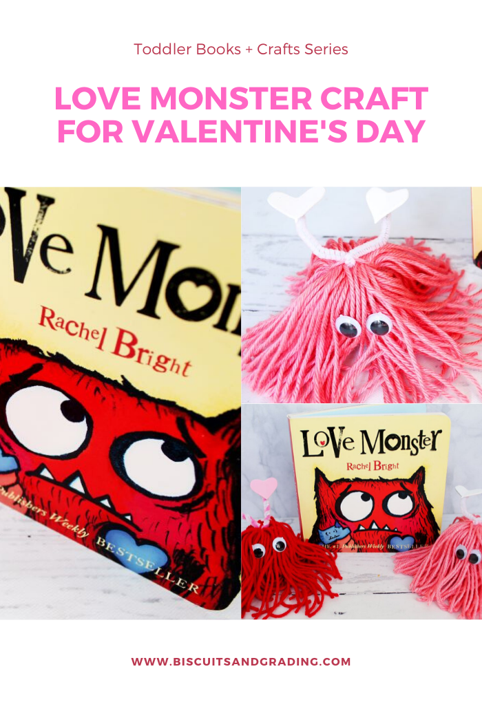 Love Monster Craft for Valentine's Day