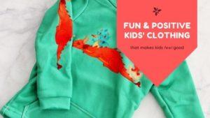 fun & positive kids clothing