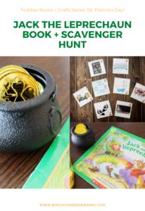 jack the leprechaun book and scavenger hunt pinterest
