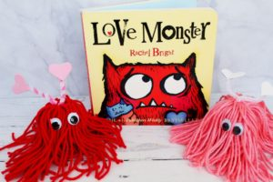 love monster book with 2 love monster crafts 1