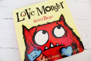 love monster book by rachel bright