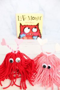 love monster crafts in front and book in back 1