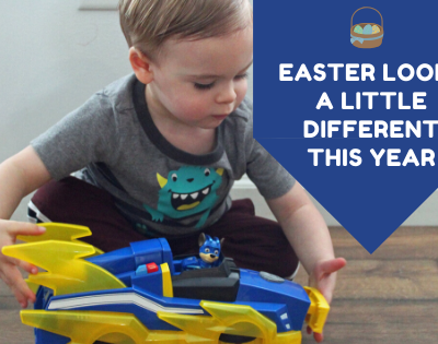 Easter Looks a Little Different This Year (Paw Patrol to the Rescue!)