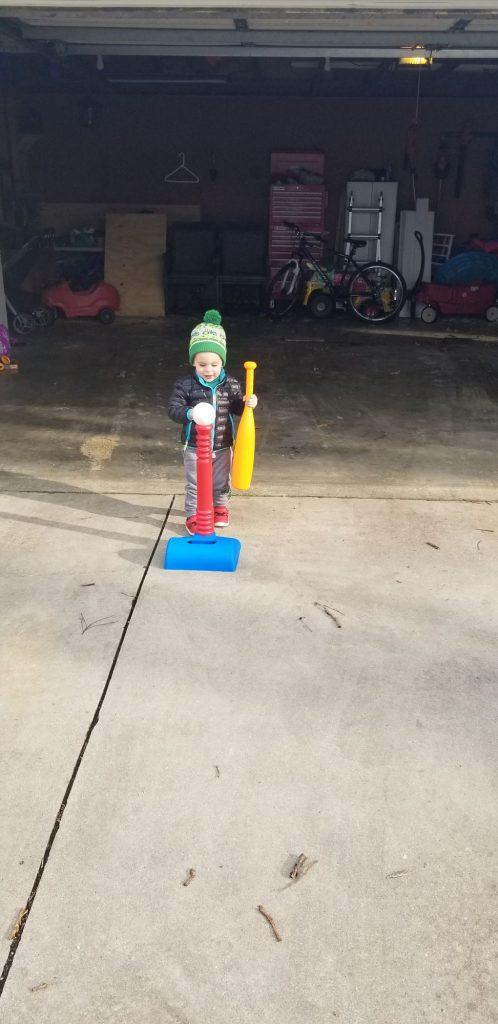 bat and ball outdoor play set