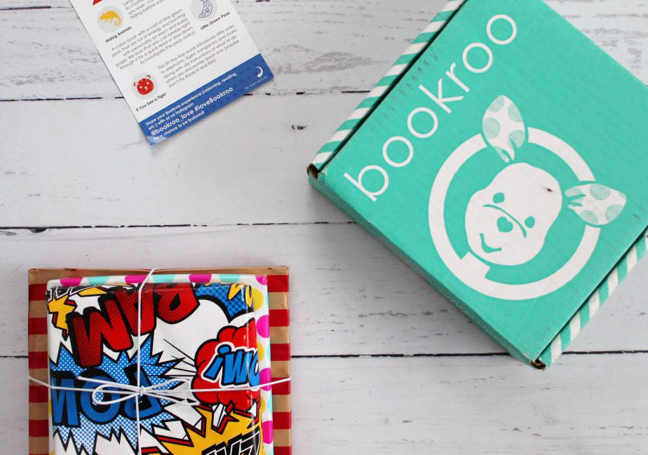 bookroo book subscription box for toddlers