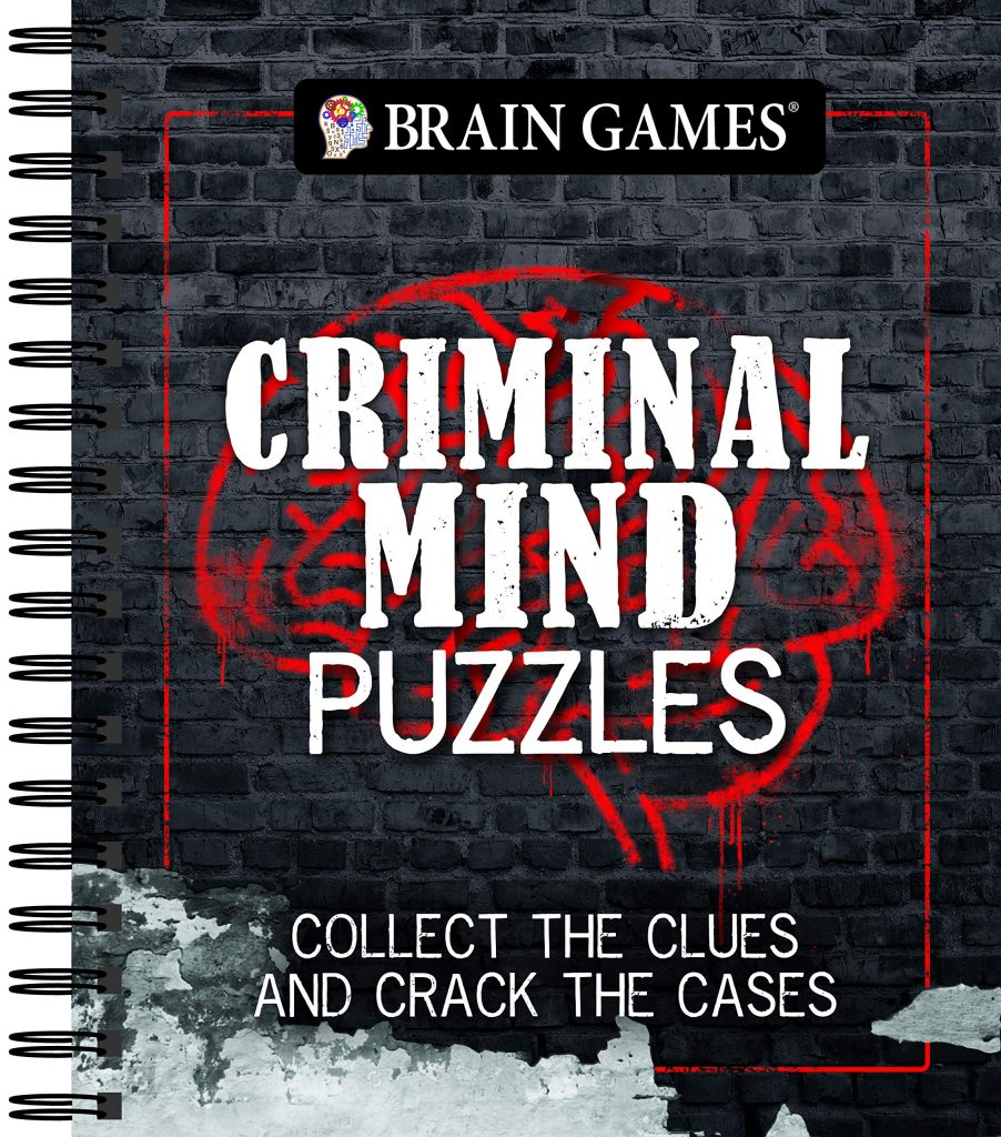 criminal mind puzzle book