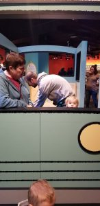 indianapolis children's musuem pigeon and pals mo willems exhibit driving bus
