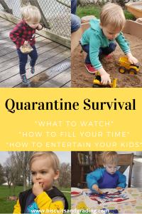 Quarantine Survival Update