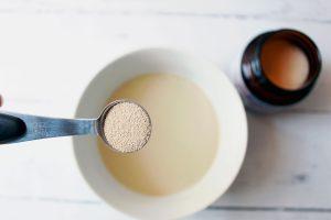 teaspoon of yeast in water 1