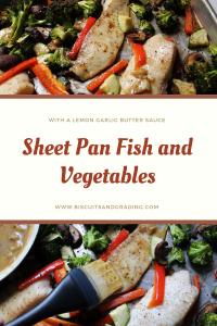 Sheet Pan Fish and Vegetables