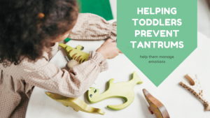 helping toddlers prevent tantrums