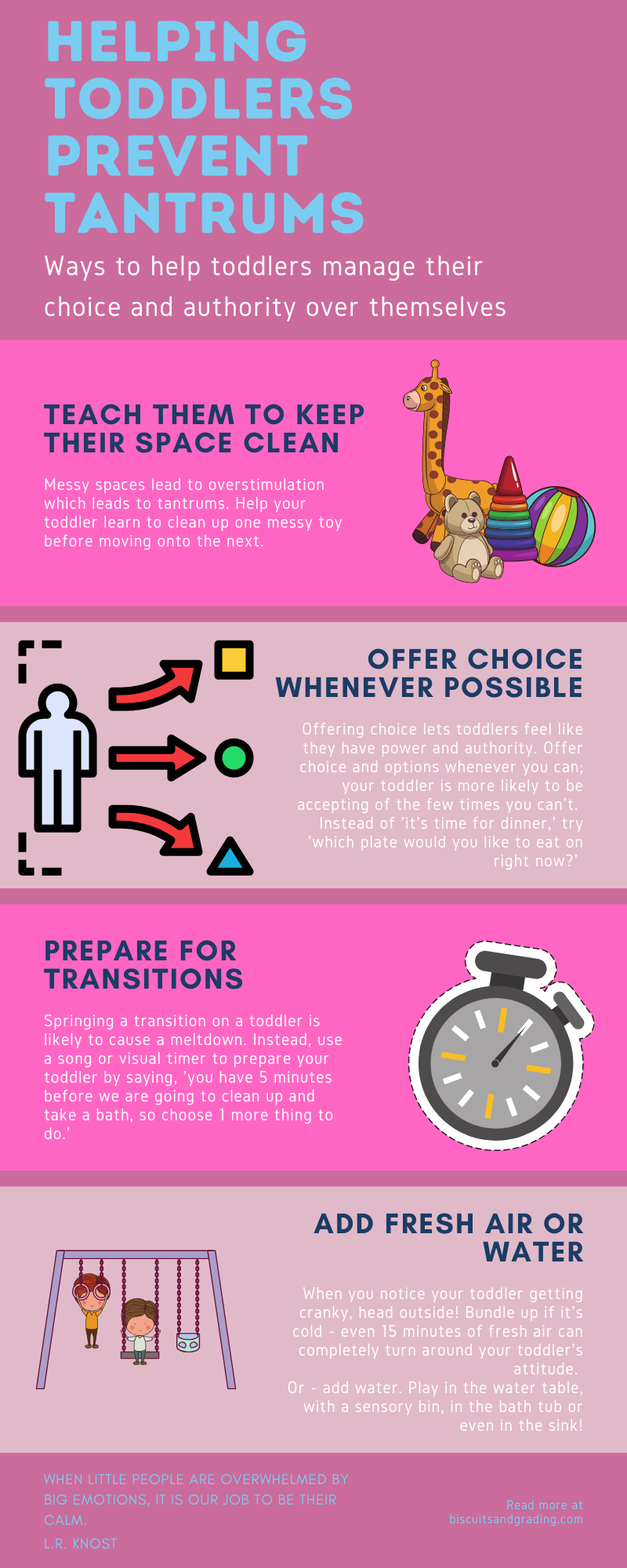 helping toddlers prevent tantrums infographic