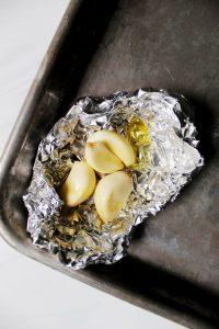roasted garlic for lemon garlic sauce 1