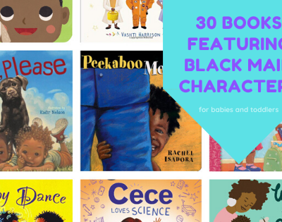 Books for Toddlers and Babies with Black Main Characters