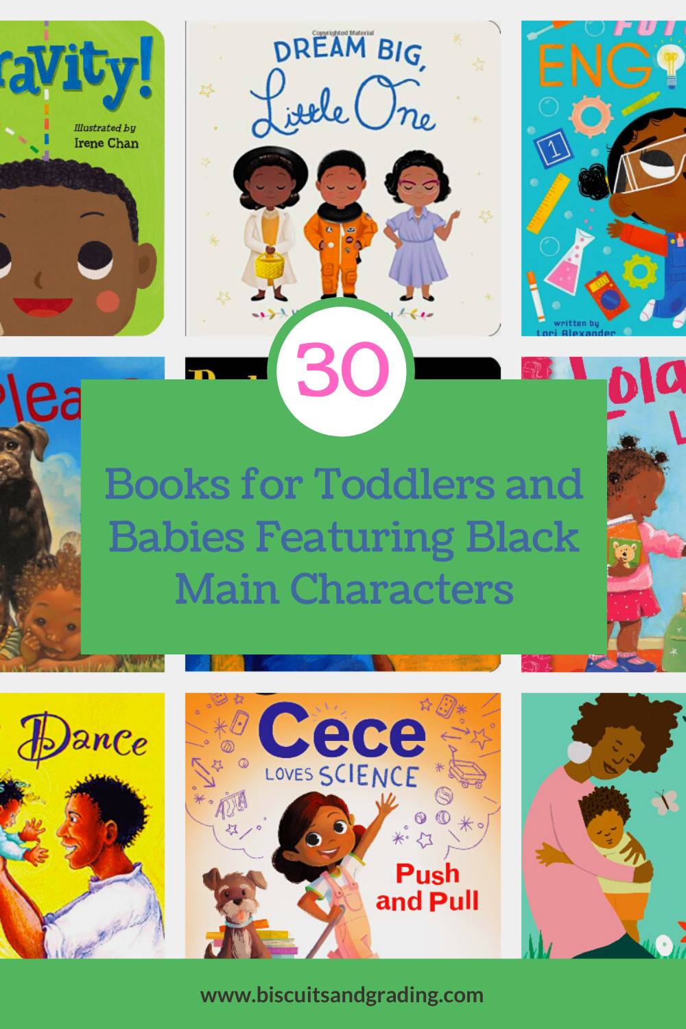 30 books for toddlers featuring black main characters