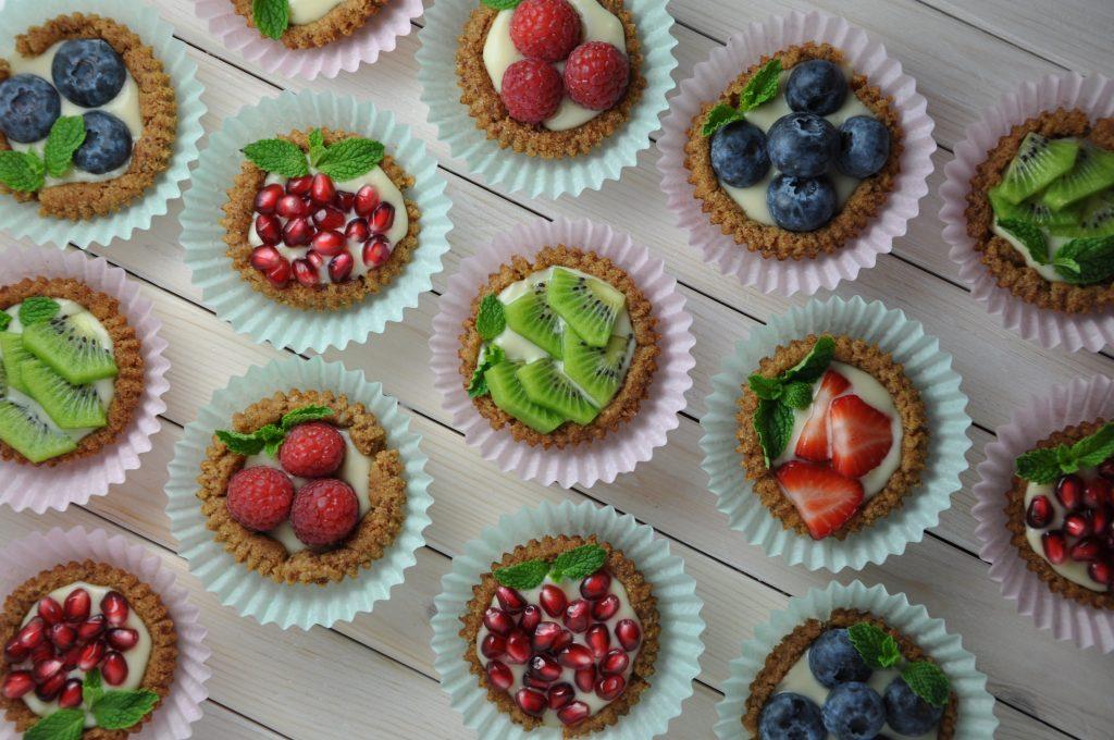 Fruit Tarts always eat after 7
