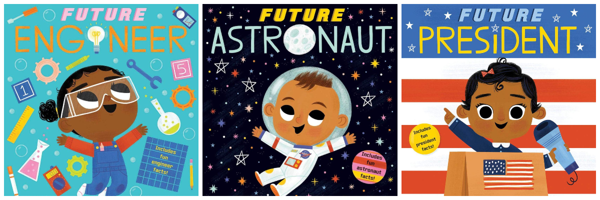 future baby books for babies and toddler with black main characters