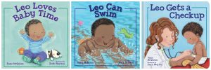 leo books for babies and toddler with black main characters