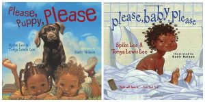 please please spike lee books for babies and toddlers with black main characters