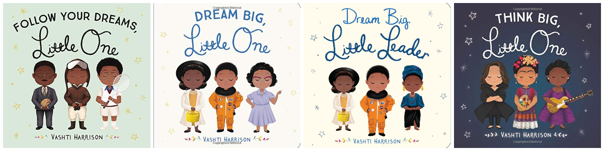 vashti harrison books for babies and toddlers with black main characters