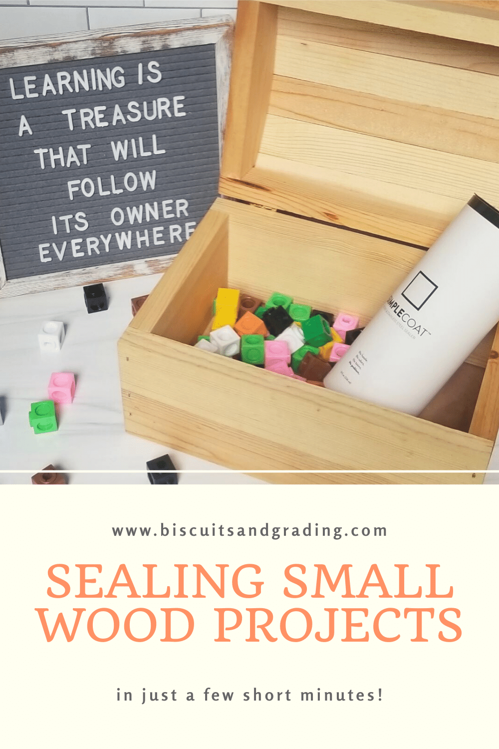 Sealing Small Wood Projects