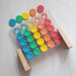 lovevery color sorter preschool activity 1
