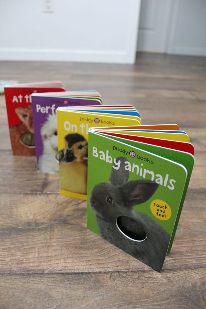 baby animals priddy books set