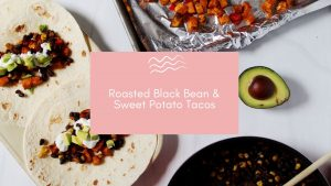 black bean tacos blog banner