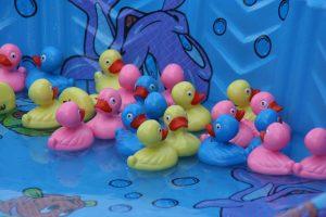 halloween carnival duck pond