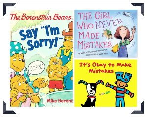 picture books about making mistakes collage 2