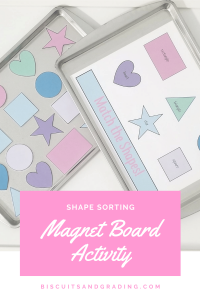 shape sorting free printable activity
