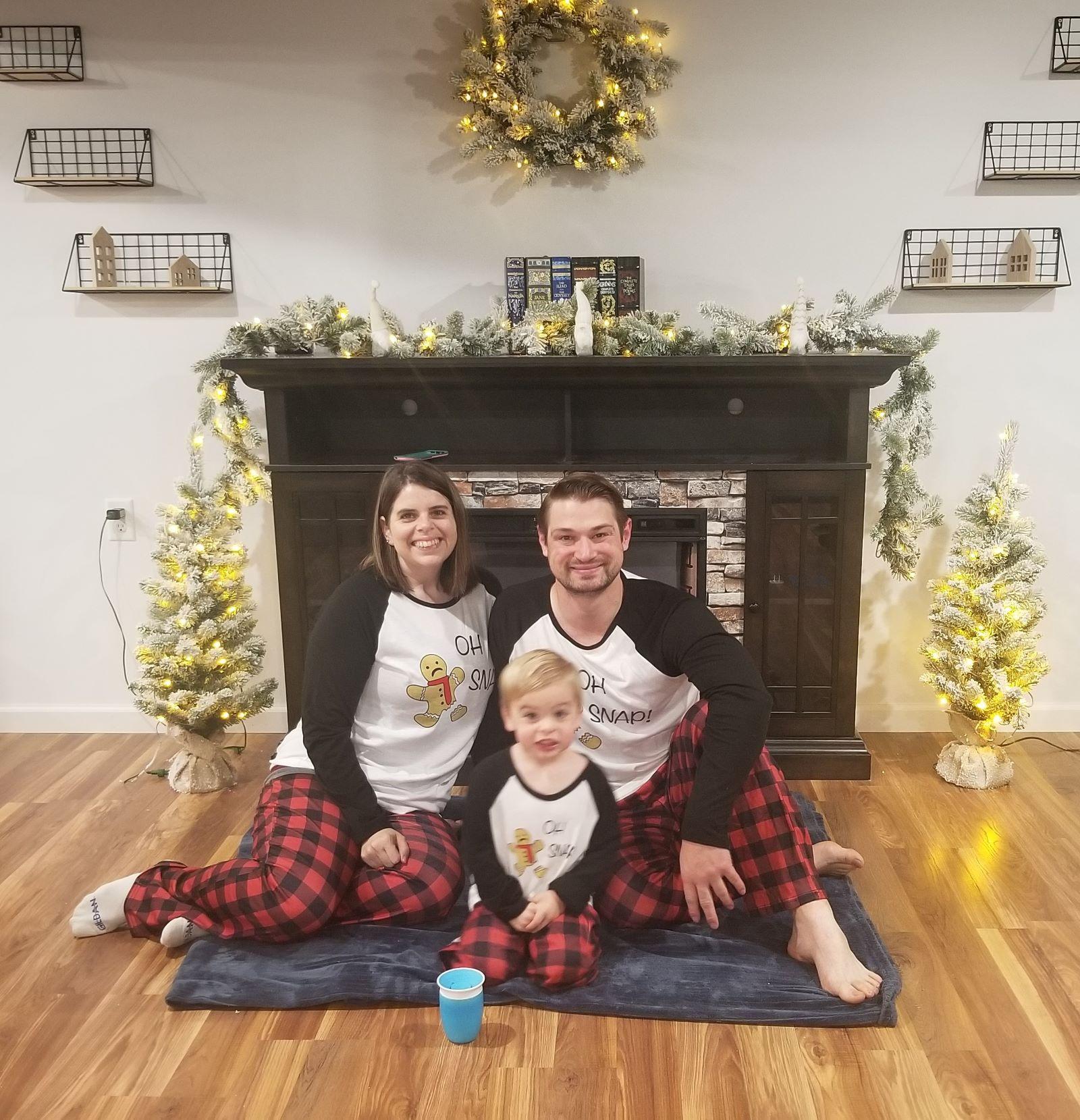 christmas traditions matching family pajamas 1