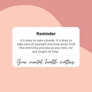 iui infertility process reminders