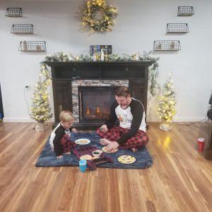 pancake family breakfat matching pajamas